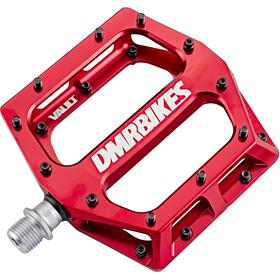 DMR Vault MIDI Pedals red